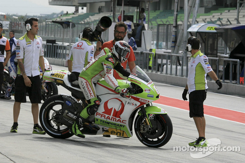 Positive qualifying session for the Pramac Racing Team at Sepang