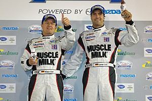 ALMS Race report Muscle Milk Pickett Racing clinch first team and driver championship at Petit Le Mans