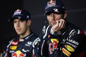 Formula 1 Rumor Webber apologised after press conference snub