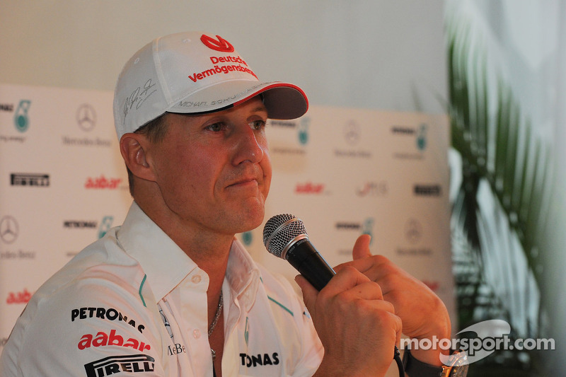 2013 Mercedes role still open - Schumacher