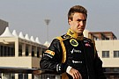 Valsecchi on top with Lotus in Young Driver final day of Abu Dhabi testing