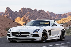 Automotive Breaking news The new Mercedes-Benz SLS AMG Coupé Black Series