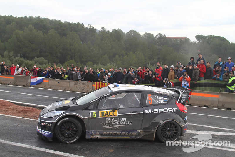Tanak's pace goes unrewarded in Spain