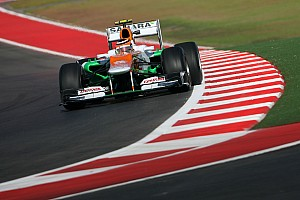Formula 1 Practice report HRT uses three drivers on Friday practices at Circuit of The Americas