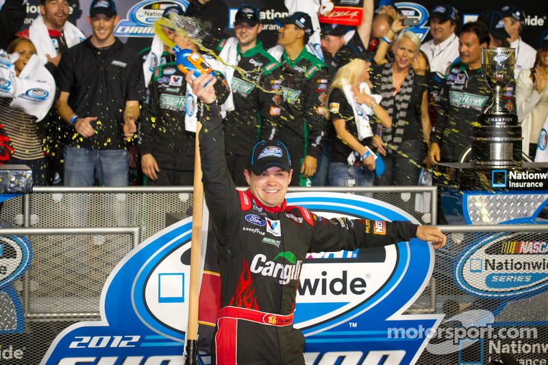Stenhouse joins elite group of back-to-back Nationwide Champions