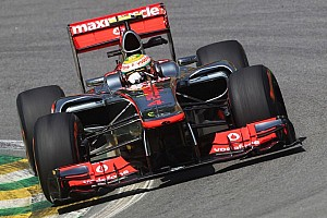 Formula 1 Practice report Hamilton sets the pace in Friday's practices at Brazilian GP