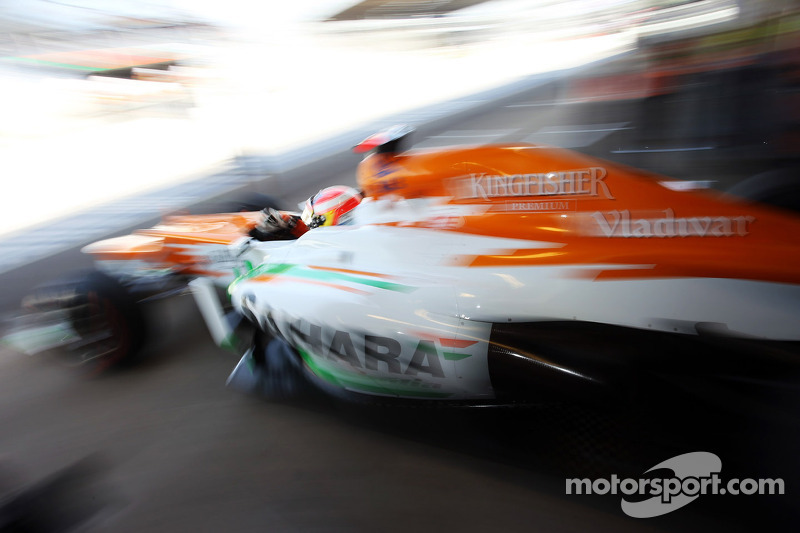 Sutil returning to F1 with Force India