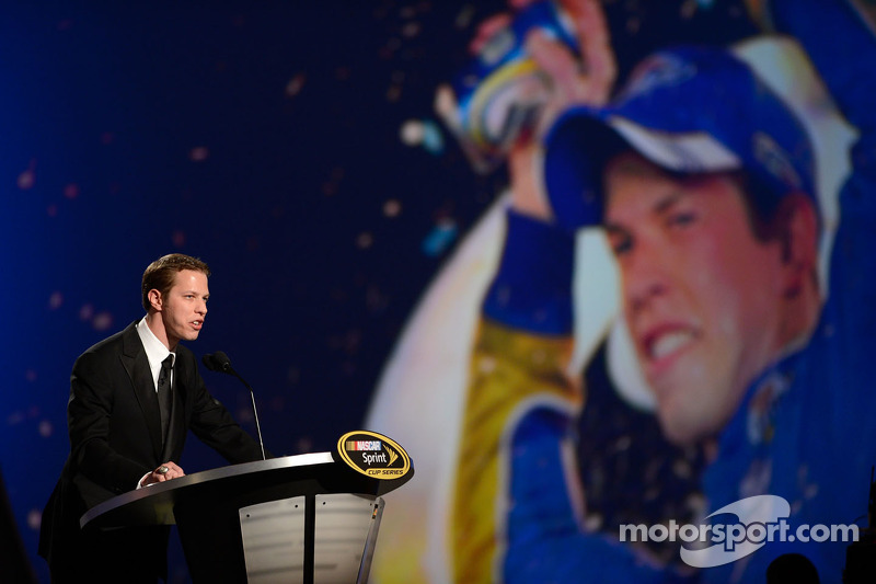 Keselowski hits NASCAR's jackpot to close out 2012 Champion's Week