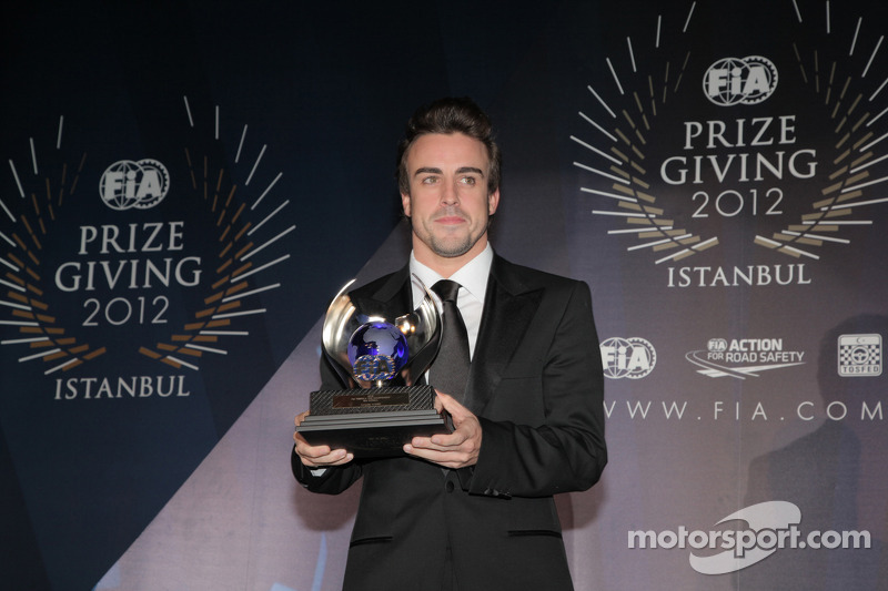 Team bosses vote Alonso best driver of 2012