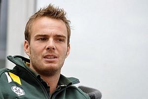 Formula 1 Breaking news Van der Garde's Caterham hopes 'shrink'