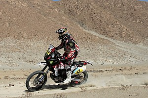 Dakar Stage report Botturi fourth in fifth stage on his Husqvarna TE449RR by Speedbrain