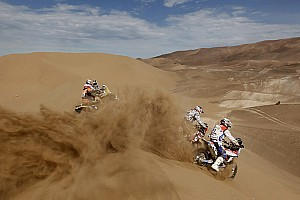 Dakar Interview Chile: Stage 6 - Arica to Calama quotes