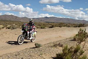Dakar Stage report Botturi places 10th on the seventh stage