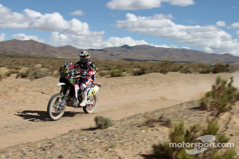 Botturi places 10th on the seventh stage