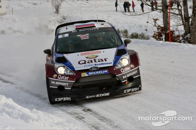 Qatar M-Sport stars make their mark on day 2 of Rallye Monte Carlo