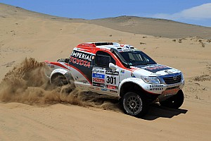 Dakar Stage report De Villiers and Von Zitzewitz sit second overall at the end of stage 13