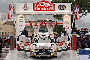 WRC Race report Abu Dhabi-Citroen WRC partnership delivers instant sucess