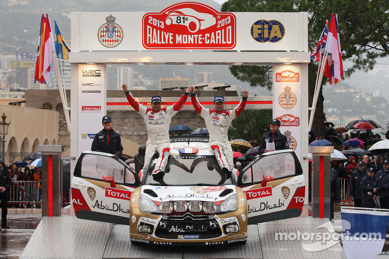 Abu Dhabi-Citroen WRC partnership delivers instant sucess