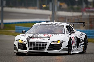Grand-Am Qualifying report WeatherTech Racing Audi R8 qualifies sixth for Rolex 24 at Daytona