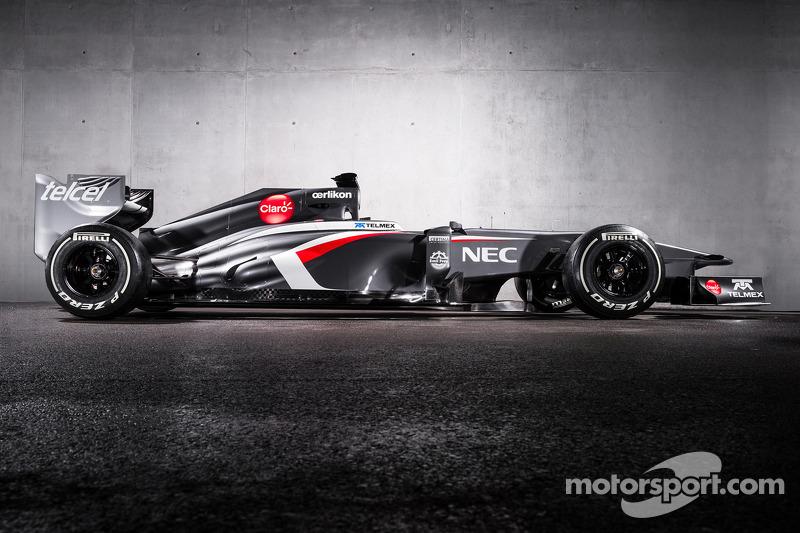 Sauber reveals grey car for 2013 season