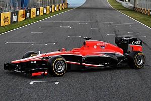 Formula 1 Breaking news Marussia kicks off new season by launching their MR02
