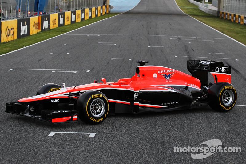 Marussia kicks off new season by launching their MR02