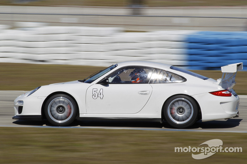 CORE autosport gets first taste of IMSA GT3 Challenge at Sebring Winter Test