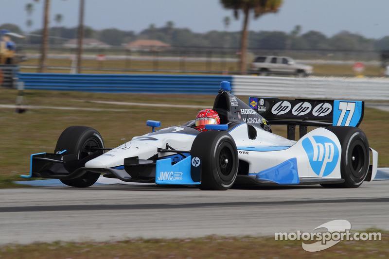 Hamilton again teams with Schmidt to field Pagenaud's  No. 77 Honda