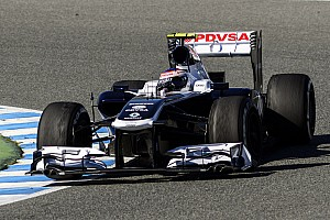 Formula 1 Testing report Williams and Bottas finish a busy testing day three at Jerez