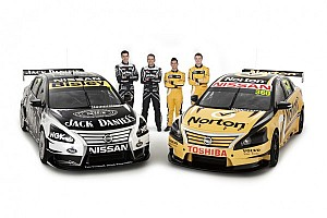 Supercars Breaking news Nissan Motorsport unveils four-car factory V8 Supercar team