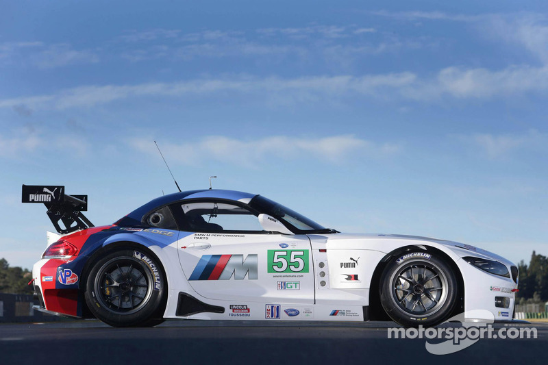 BMW Z4 GTE takes center stage with Team RLL in Daytona