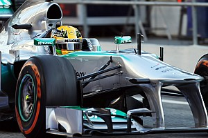 Formula 1 Testing report Hamilton logs more testing laps on day two in Barcelona
