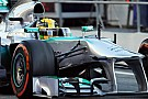 Hamilton logs more testing laps on day two in Barcelona