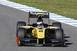 GP2 Testing report Test at Jerez: Excellent performance of Richelmi on track with DAMS