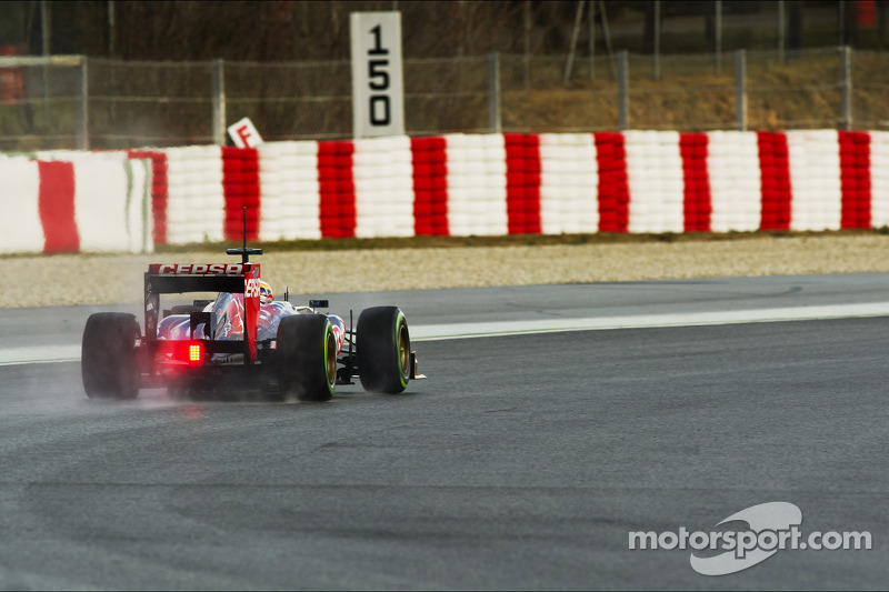 Vergne opened the second round of testing in Barcelona with third best laptime