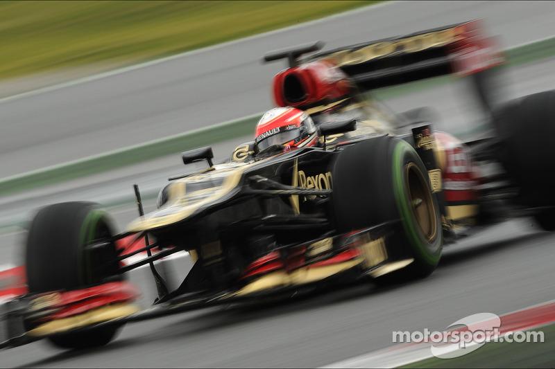 Grosjean fastest on Day 2 at Circuit de Catalunya