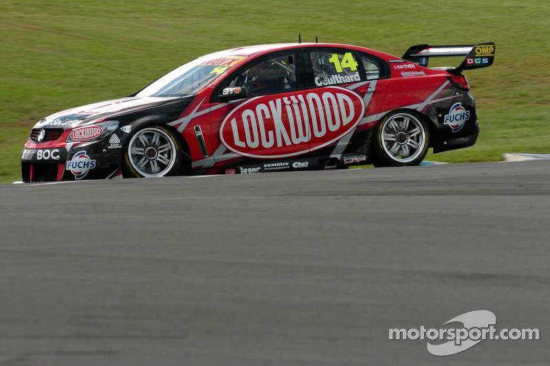 Agony for Lockwood Racing and Coulthard in first Adelaide race