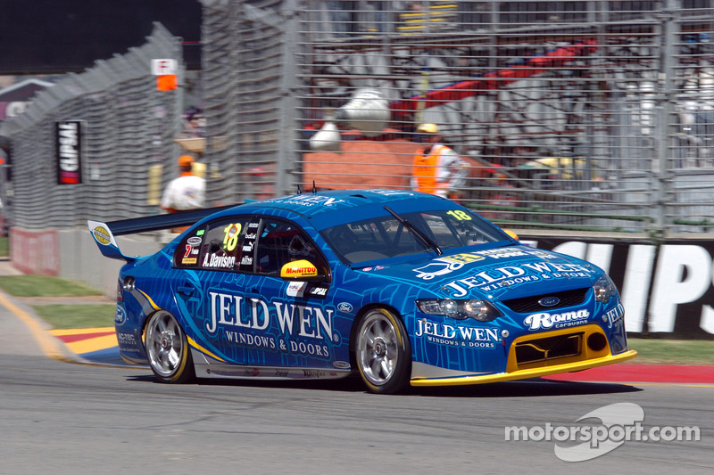 Solid return to V8 Supercars by Alex Davison in Adelaide