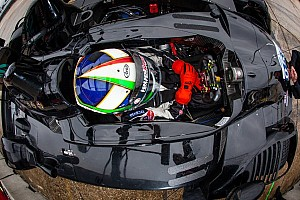 ALMS Testing report Franchitti fastest in damp Sebring Tuesday morning test session