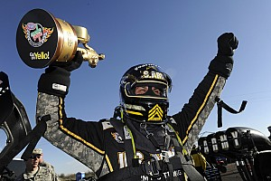 NHRA Preview Tony Schumacher and Antron Brown are fully set for upcoming NHRA Grandnationals