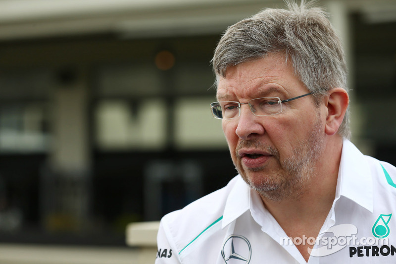 Melbourne practice day - a fruitful one for Mercedes AMG Petronas