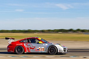 ALMS Qualifying report Flying Lizard pleased with Sebring 12H GTC qualifying results