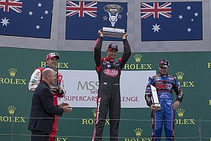 Supercars Race report Coulthard earns another victory in the fourth race on the Albert Park Circuit