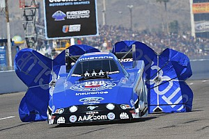 NHRA Race report Hights races to semi-finals at Gatornationals