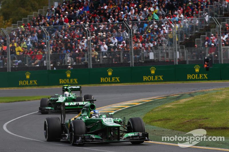 Caterham denies F1 quit rumours