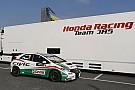 Tiago Monteiro on the starting blocks for round one at Monza