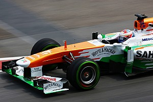 Formula 1 Qualifying report Disappointing Sepang qualifying for Force India