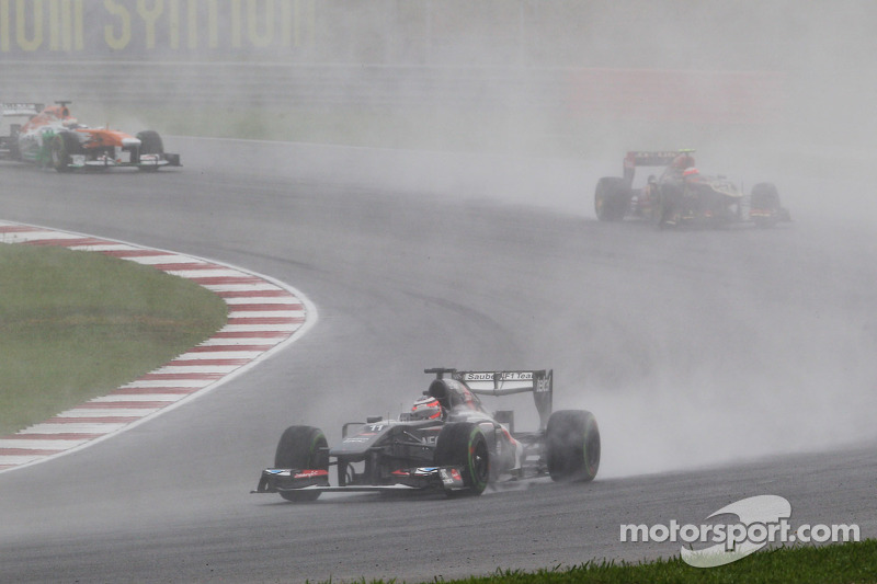 Hulkenberg brought first points for Sauber on Malaysian GP