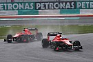 Marussia's Bianchi did a great job once again at Sepang