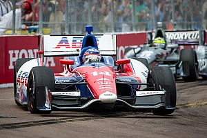 IndyCar Race report Good debut for Sato in A.J. Foyt at St. Pete